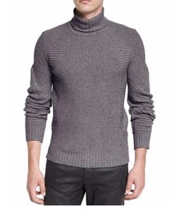 Litlehurst Mixed-Knit Turtleneck Sweater by Belstaff in Wonder Woman