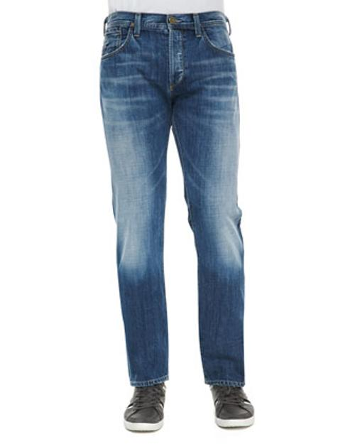 Core Nathan Light Wash Jeans by Citizens of Humanity in Ride Along