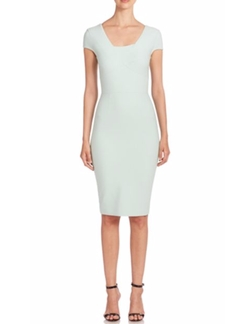 Whistler Short Sleeve Dress by Roland Mouret in Empire