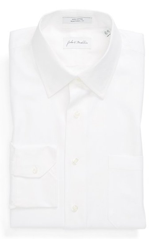 Traditional Fit Dress Shirt by John W. Nordstrom in Taken 3