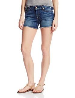 Women's Cut-Off Denim Short by 7 For All Mankind in Neighbors