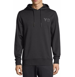 Classic Cotton French Terry Logo Hoodie by Y-3 in Molly's Game