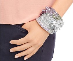 Curvy Cuff Bangle by Swarovski in The Man from U.N.C.L.E.