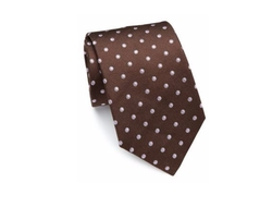 Dotted Silk Tie by Eton of Sweden in The Blacklist