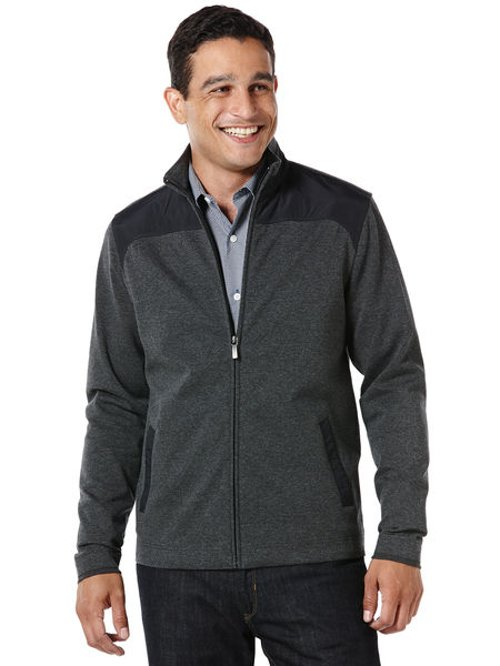 Long Sleeve Full Zip Jacket by Perry Ellis in Crazy, Stupid, Love.