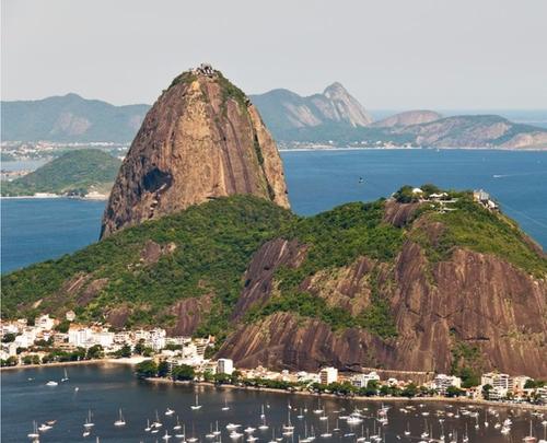 Sugarloaf Mountain Rio de Janeiro, Brazil in Mechanic: Resurrection