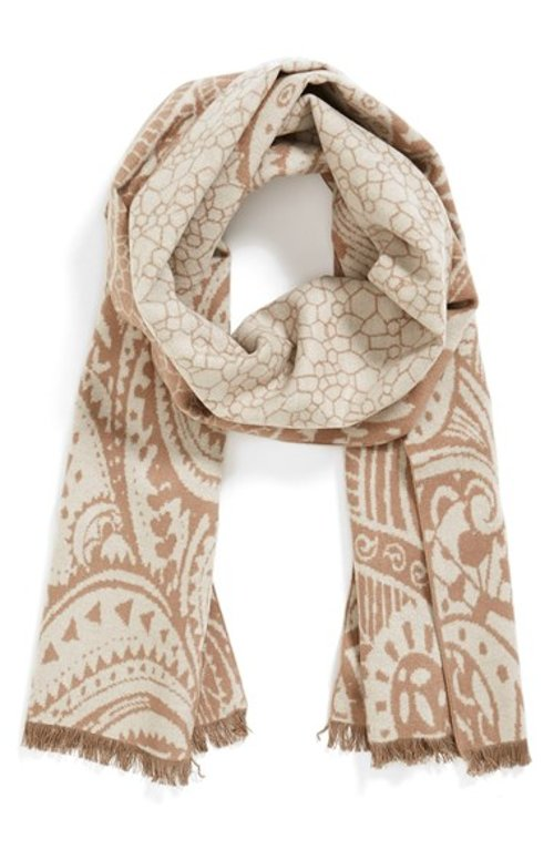 'Pretty Paisley' Silk Muffler by Chelsey in (500) Days of Summer