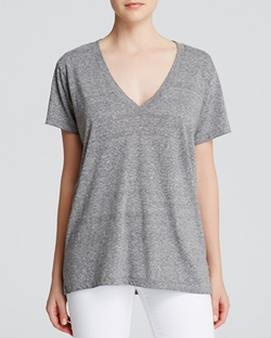 V-Neck Tee by Current/Elliott in Nashville
