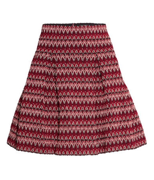Textured Skirt by H&M in Scream Queens - Season 1 Episode 12
