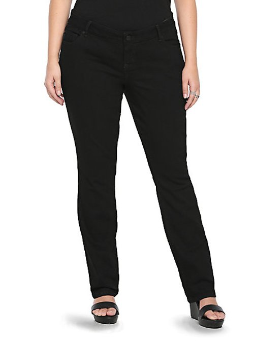 Barely Boot Cut Denim Jeans by Torrid in Pitch Perfect 2