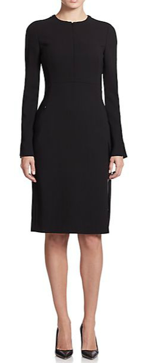 Double-Face Wool Sheath Dress by Akris in Suits