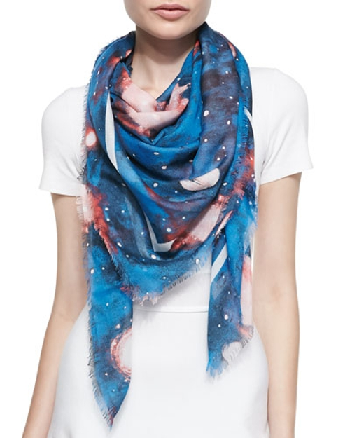 Stargazer Printed Lightweight Scarf by Marc By Marc Jacobs in Sex and the City 2