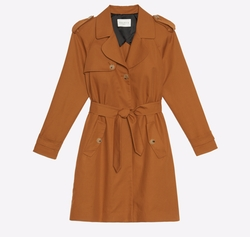 'Malory' Trench Coat by Sandro in The Flash
