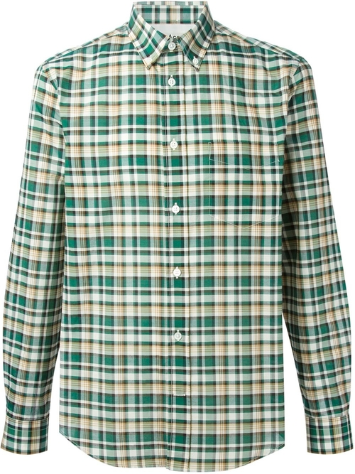 'Ishwerwood' Check Shirt by Acne Studios in Mission: Impossible - Ghost Protocol