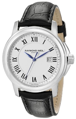 Analog Display Swiss Quartz Watch by Raymond Weil in Self/Less