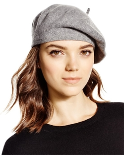 Cashmere Angelina Beret by C by Bloomingdale's in Elementary