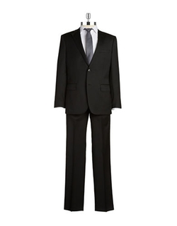 Two Piece Henry Suit by Black Brown 1826 in Wedding Crashers