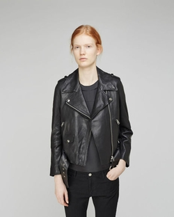 Mape Leather Jacket by Acne Studios in The Defenders