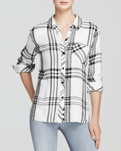 Hunter Plaid Shirt by Rails in Fast Five