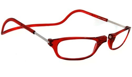 Original Front Magnetic Connect Reading Glasses by CliC in The Mindy Project - Season 4 Episode 2