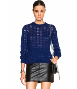 Crystal Mohair Sweater by Saint Laurent in Empire