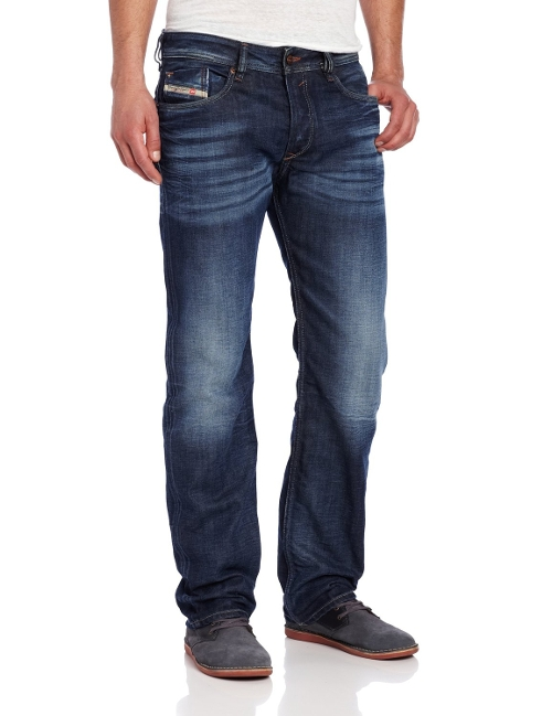 Waykee Regular Straight-Leg Jeans by Diesel in Poltergeist