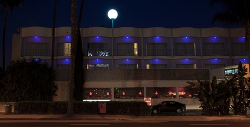 The Standard Hotel Los Angeles California, USA in Mortdecai