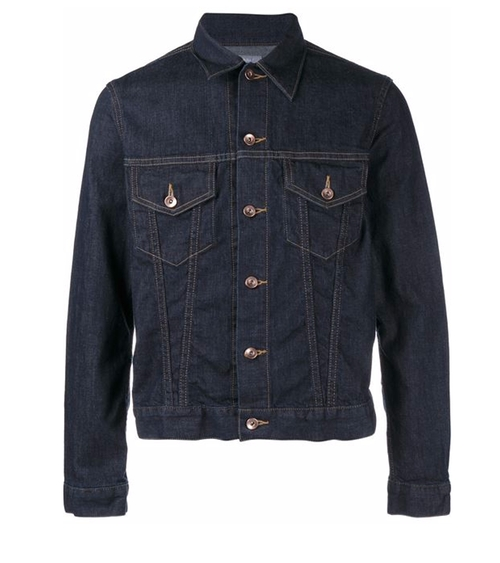 Denim Jacket by Kolor in Guilt - Season 1 Episode 1