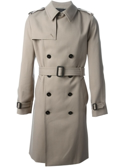 'Western' Trench Coat by Saint Laurent in The Loft