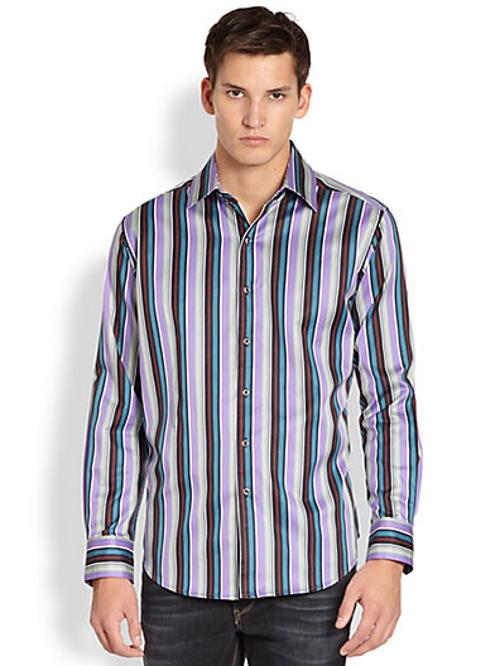 Schoolhouse Cotton Sportshirt by Robert Graham in Jersey Boys