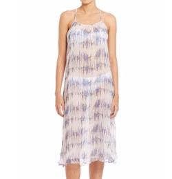 Venice Beach Printed Silk Dress by Heidi Klein in Valerian and the City of a Thousand Planets