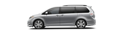 Sienna Wagon Minivan by Toyota in Modern Family