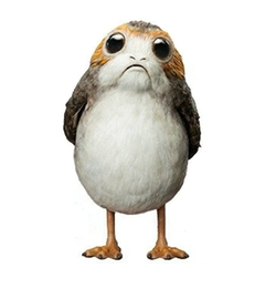 The Porg by Jake Lunt Davies (Concept Artist) in Star Wars: The Last Jedi