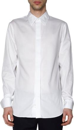 Covered Placket French Cuffed Dress Shirt by Ann Demeulemeester in Lee Daniels' The Butler