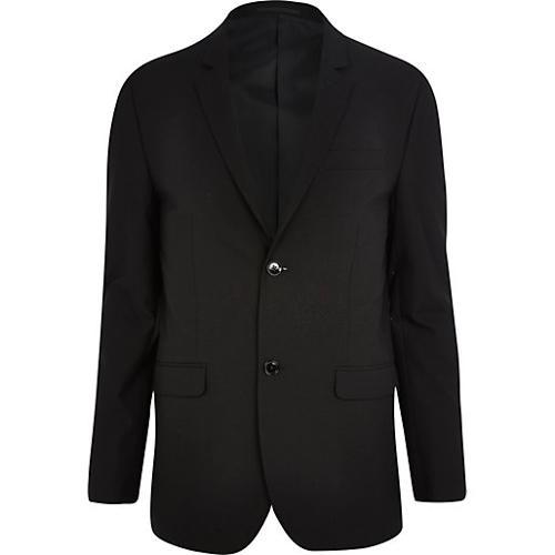 Black Skinny Suit Jacket by River Island in Lee Daniels' The Butler