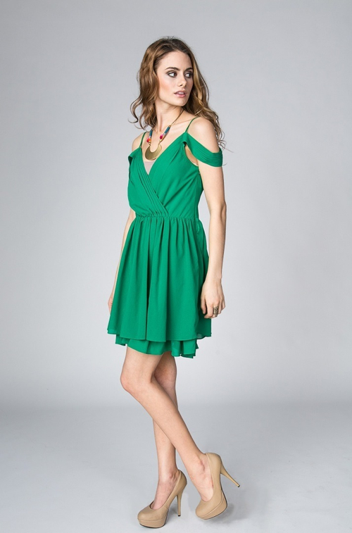 Every Dance Green Dress by Ark n Co in Crazy, Stupid, Love.