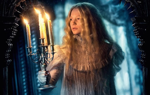 Custom Made Puff Sleeve Nightgown by Kate Hawley (Costume Designer) in Crimson Peak