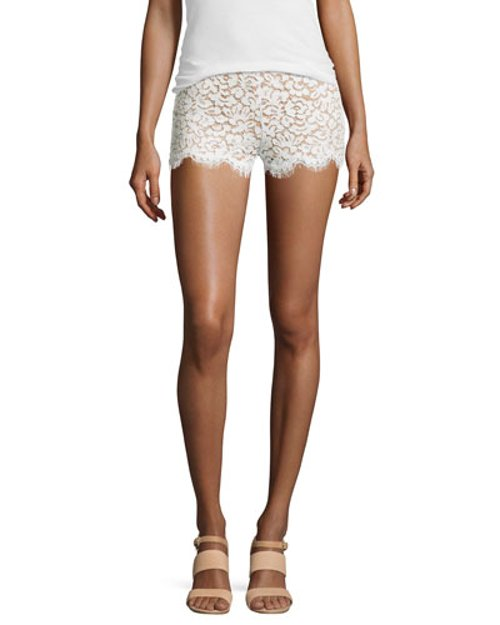 Mini Lace Shorts by Michael Kors in The Other Woman
