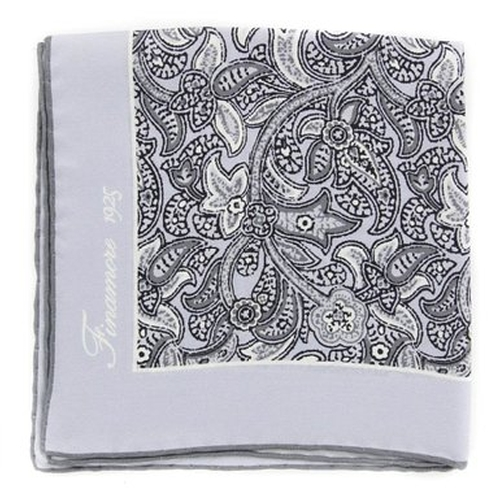 Paisley Pocket Square by Finamore in Suits - Season 5 Episode 7