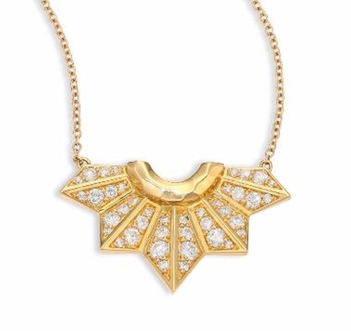 Fan Pendant Necklace by Ron Hami in Keeping Up With The Kardashians - Season 12 Preview