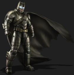 Custom Made 'Batman' Armor Suit (Bruce Wayne) by Michael Wilkinson (Costume Designer) in Batman v Superman: Dawn of Justice