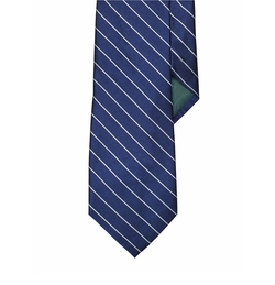 Striped Silk Tie by Lauren Ralph Lauren in Snowden
