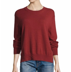 Uneven Hem Sweater by Vince in Pitch Perfect 3