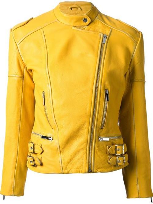 Biker Jacket by Christopher Kane in Teenage Mutant Ninja Turtles (2014)