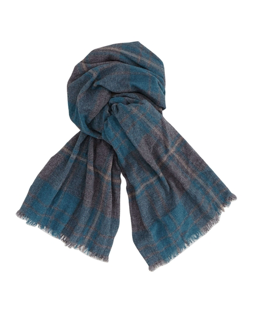 Plaid Cashmere Men's Scarf by Brunello Cucinelli in X-Men: Days of Future Past