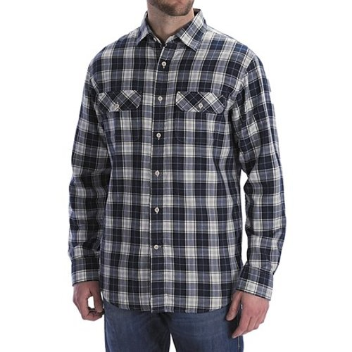 Jersey-Lined Flannel Shirt by Worn Denim in Neighbors