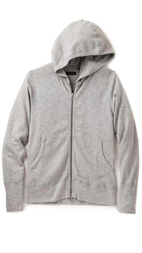 Base Full Zip Hoodie by Wings + Horns in Little Fockers
