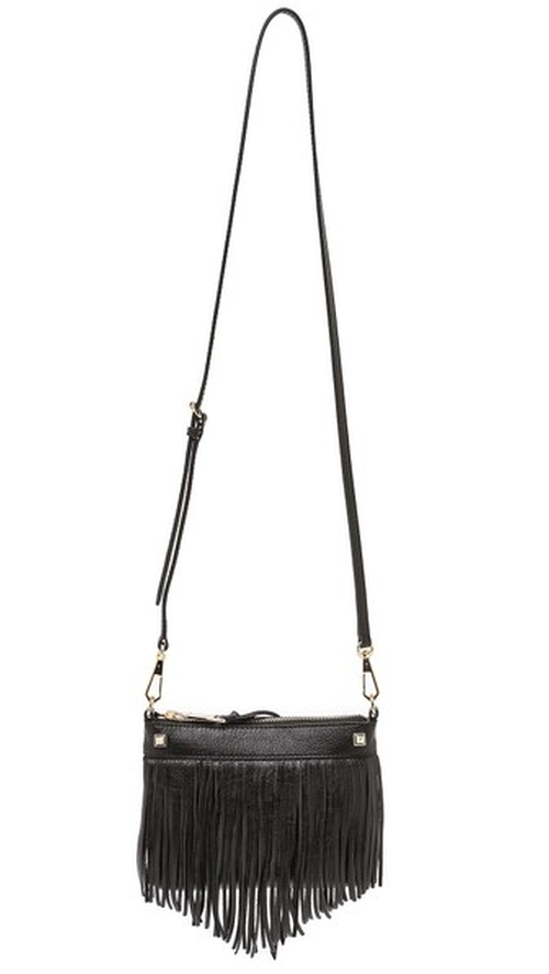 Mini Fringe Cross Body Bag by Rebecca Minkoff in She's Funny That Way