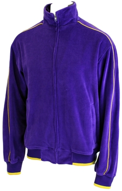 Velour Track Jacket by Sweatsedo in The Big Bang Theory