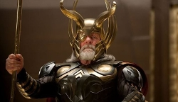 Custom Made 'Odin' Costume by Alexandra Byrne (Costume Designer) in Thor